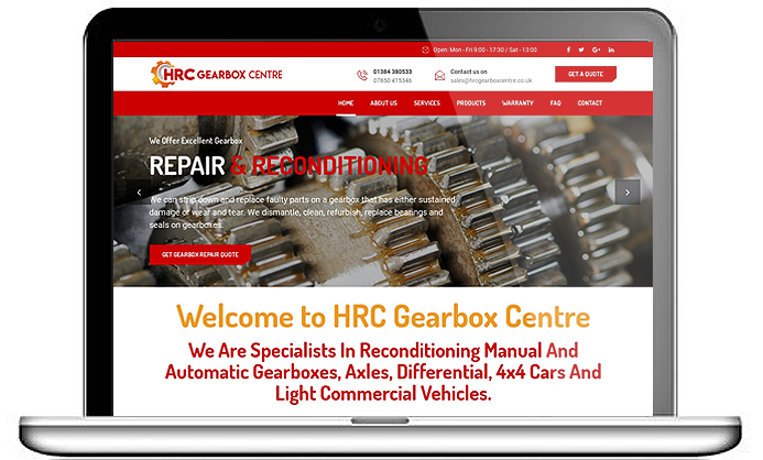 HRC Gearbox Centre